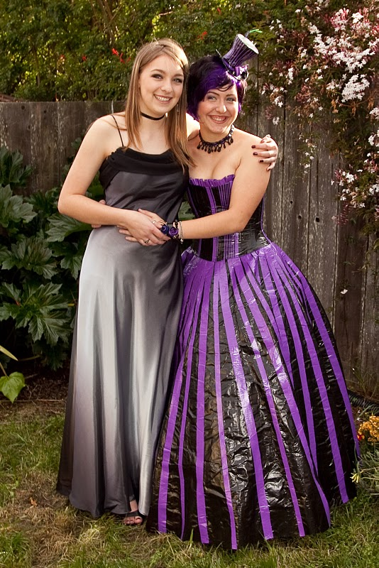 create-o-matic: #337 The Duct Tape Prom Dress  Duct