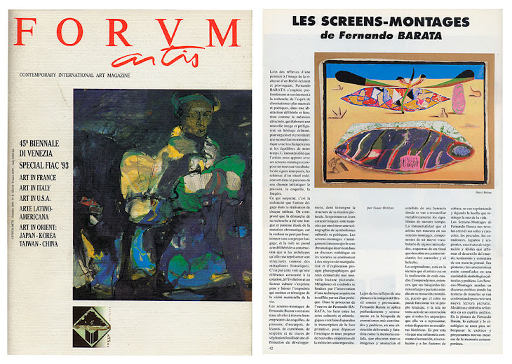Magazine Forum Artis, oct.1993 - Italie