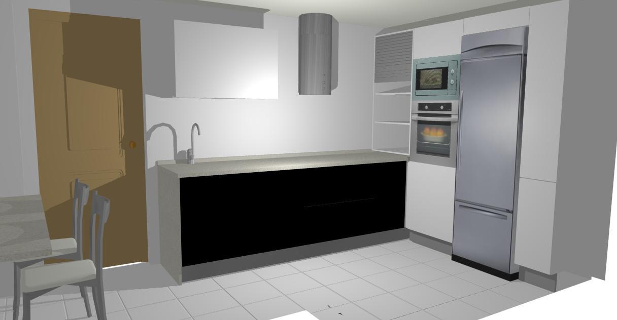 Formas almacen de cocinas tengo un calentador en mi cocina for Mueble persiana cocina