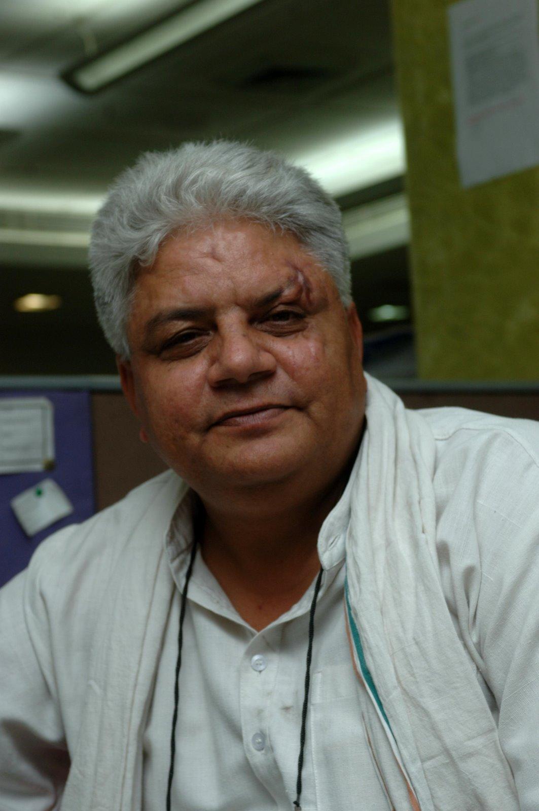 Naresh Kadyan - an activist.