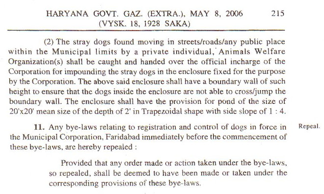 REGISTRATION & PROPER CONTROL OF DOGS 5