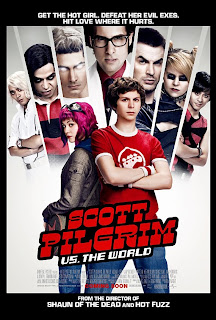 scott pilgrim official movie poster - Scott Pilgrim, la pelicula más geek para geeks.