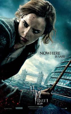 hermione poster deathly hallows - Harry Potter y la aburrición de la muerte, parte uno