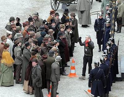 photo dominique gutekunst 2 - Fotos desde el set de Sherlock Holmes 2