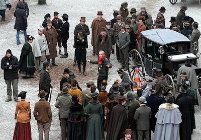 photo dominique gutekunst 3 - Fotos desde el set de Sherlock Holmes 2