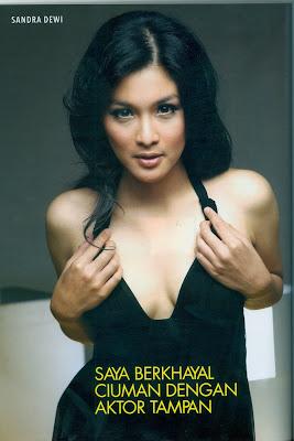 sandra dewi fhm model cinta indah