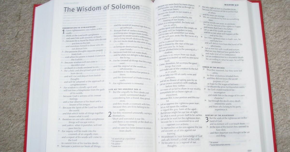 Catholic Bibles: ESV w/ Apocrypha (Deuterocanonicals) is Here!