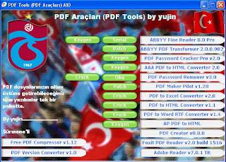 PDF Araçları Paketi 15 Program Birarada
