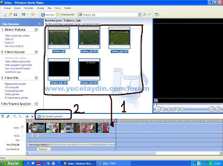 Windows Movie Maker TÜRKÇE Kullanım Kitapçığı
