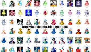 87 Adet MSN Avatar
