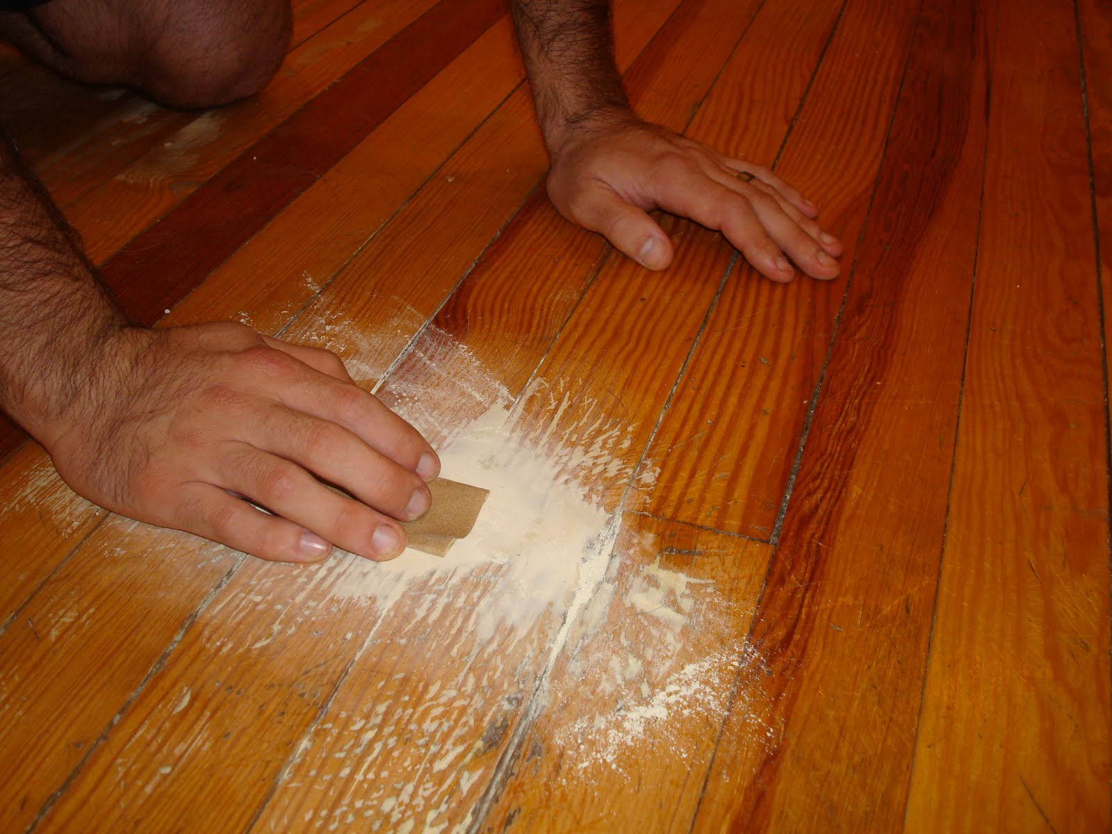 diy painted kitchen floor for 50 hardwood floor in kitchen DIY Painted Kitchen Floor for 50