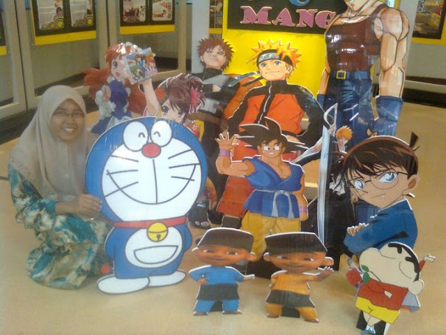 Panorama Kampus :  Anime