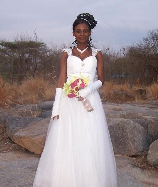 Cinderella Shweshwe Dress: Asha's Wedding