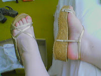 sandália nova