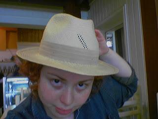 Eu com o chapéu de babai