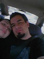 eu e o JP no carro