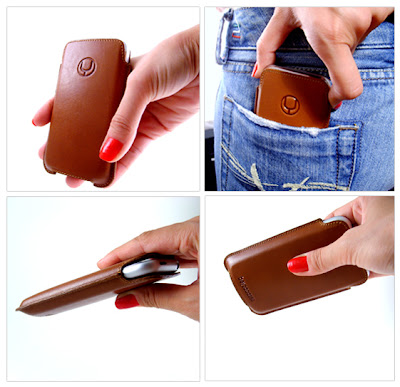 iPod Touch SlimLINE Leather Pouch Case from beyza/cases