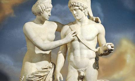 pene sulla scultura