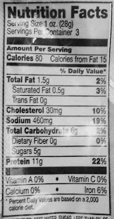 matador beef jerky nutrition facts