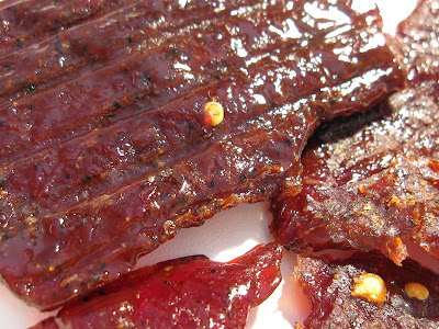 sweet & hot beef jerky