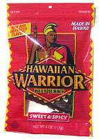 Hawaiian Warrior Beef Jerky - Sweet & Spicy