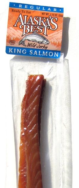 Alaska's Best Salmon Jerky - Regular ~ Beef Jerky Reviews