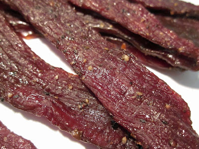 garlic black pepper jerky