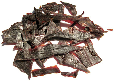 maple and spice beef jerky