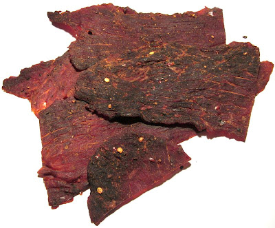 sweet and spice beef jerky