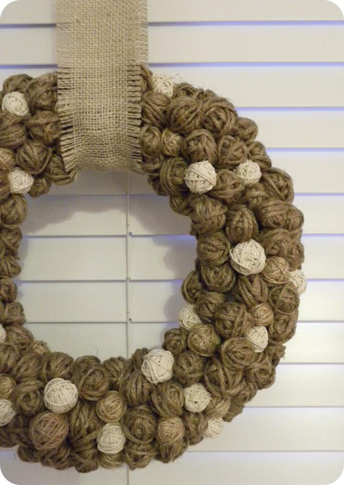 DIY Tutorial: Winter Wreath!