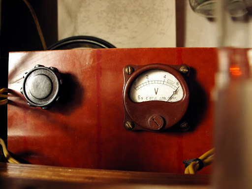 QRP 6N7 Tube Amplifier