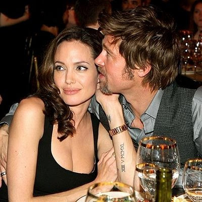 Brad Pitt and Angelina Jolie's celebrate birth of the 'Brangelina' twins