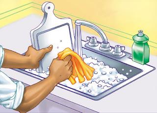 Monterrey del otro lado del charco lavar platos for Limpieza y desinfeccion de equipos y utensilios de cocina