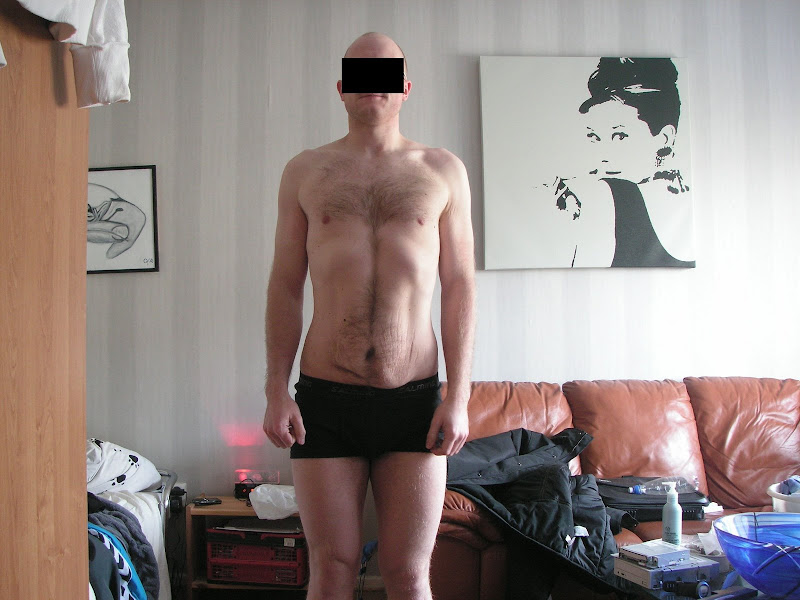 Rickard — Before Leangains @ 178lbs (Front)