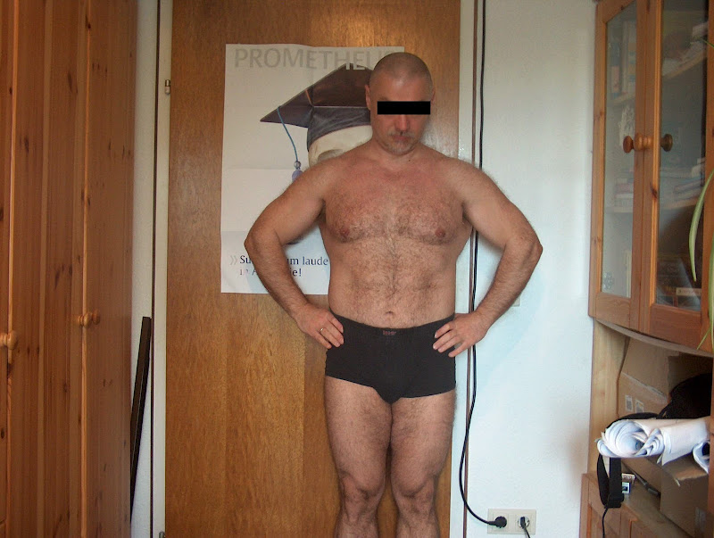 Serguei — Front picture before Leangains