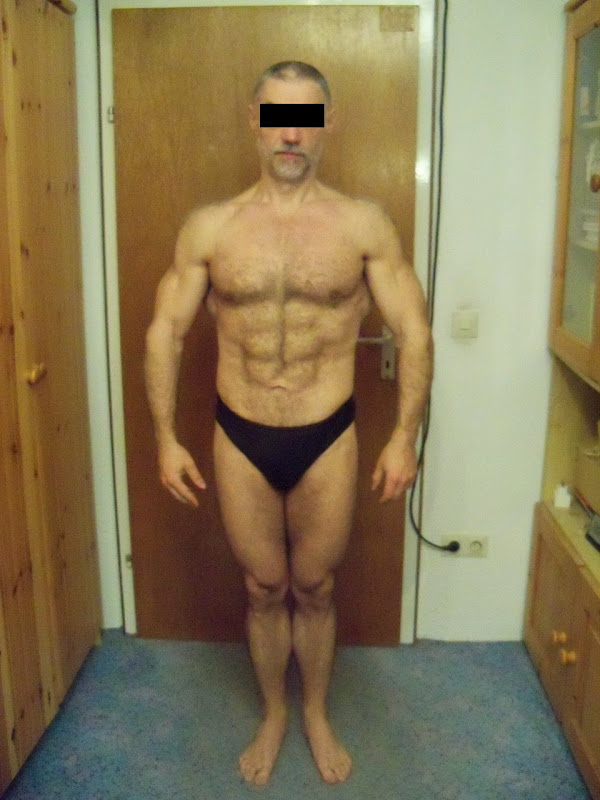 Serguei — Front picture after Leangains