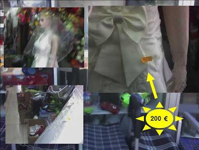 vestido de novia en un todo a cien