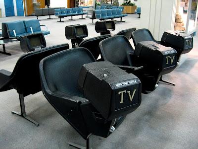 aeropuerto vending TV