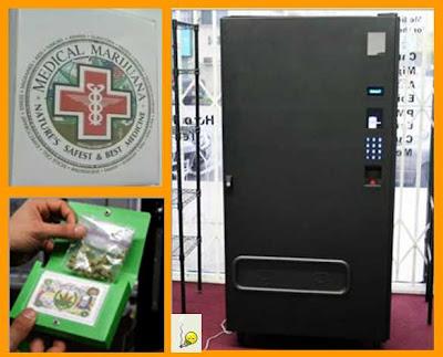 máquina expendedora de marihuana