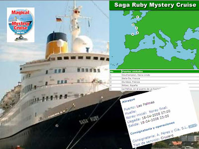crucero misterioso saga ruby