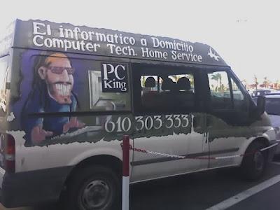 furgoneta informático a domicilio