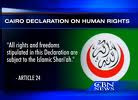 OIC Declaration on Human Rights  in Islam