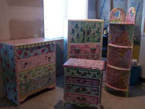 listed decor hand painted girls bedroom furniture 400