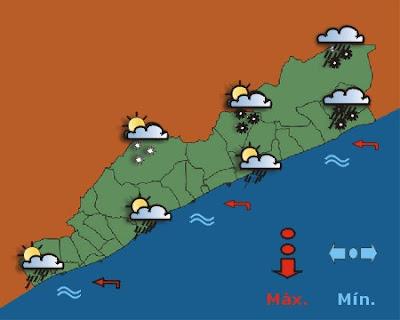 Alerta Meteorològica per risc de nevades al Maresme