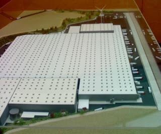 Inditex presenta la maqueta del seu projecte a PLF.