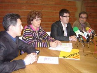 Els candidats d'ERC de Blanes, Malgrat de Mar, Tordera i PLF exigeixen la millora del transport públic a la zona.