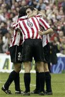 L'atlètic de Bilbao, va estrenar diumenge uns mitjons, fabricats a Malgrat, que absorbeixen un 50% dels cops.