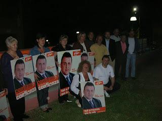 Els partits que opten a l'alcaldia de PLF van començar anit la campanya electoral.