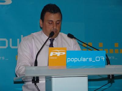 Óscar Bermán, ha presentat la seva dimissió al partit després de la pèrdua d'un regidor a l'ajuntament de PLF.