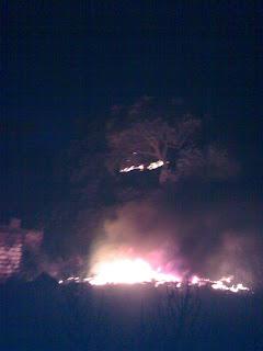 Ahir al vespre es va declarar un incendi a la zona del Moli Vell de PLF.
